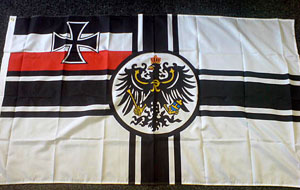 WW1 German Imperial flag - WW1 German flag