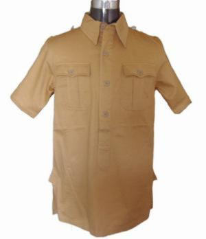 Afrika Korps Short Sleeved shirt - tan short sleeved