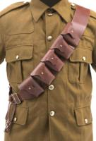 WW1 British p03 5 pouch leather bandolier
