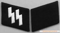 SS Collar Tabs Enlisted Man