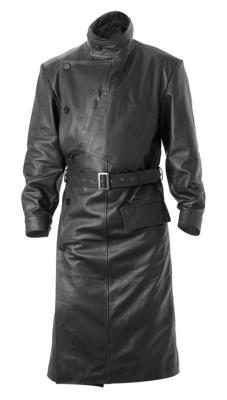 World War one British RFC leather coat in BLACK