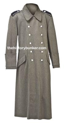 WW2 German  M40 wool Overcoat - field grey