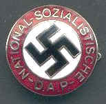 Nazi Party Badge