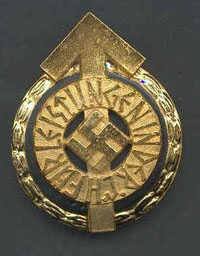 Hitler Youth Leaders Badge