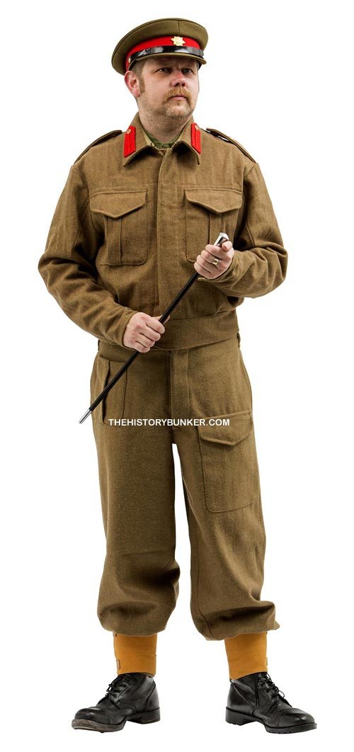 WW2 BRITISH Staff officer battle dress uniform