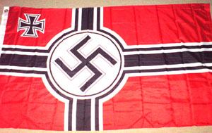 Battle flag - WW2 German flag