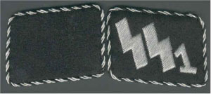 SS Collar tabs Deutschland early version