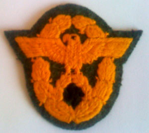 Feldgendarmeria sleeve badge