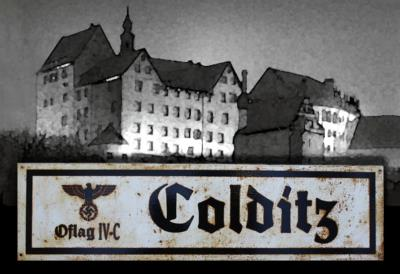 Colditz road sign - World War two repro road sign