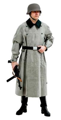 WW2 German Rubber Motorcycle Overcoat Kradmantel