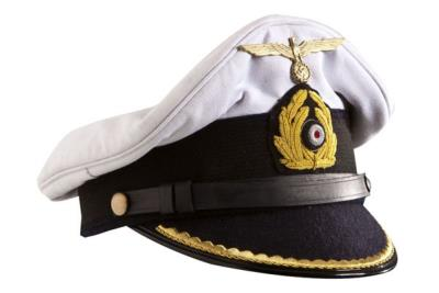 WW2 German Kriegsmarine - U boat officer visor cap