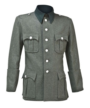 WW2 German tunic - M36 OFFICER - field grey