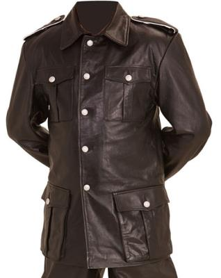 M36 WW2 German leather jacket