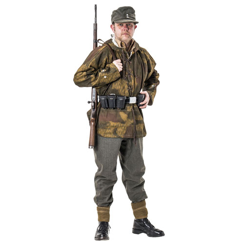 WW2 German army water and tan sniper smock