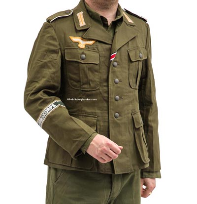 German M40 olive green Field Tunic