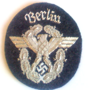 Berlin Police shield