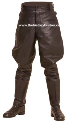 m32 leather breeches - german leather breeches
