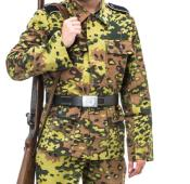 WW2 German SS Oak B Spring Uniform