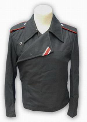 WW2 German tunic - Black Panzer wrap