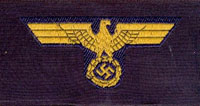 Kriegsmarine Officer  cap eagle