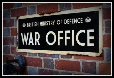 HM War Office sign - World War two repro road sign