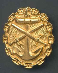 Kriegsmarine Badge