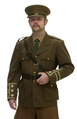 WW1 BRITISH OFFICER SERVICE DRESS UNIFORM