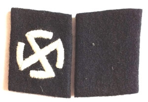 Legion Norwegian  - SS collar tabs