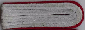 Heer German Army WW2 shoulder boards - Artillery officer lower ranks 1 x pair