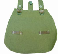 Green Bread Bag