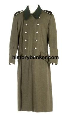 WW2 German M36 wool Overcoat - field grey
