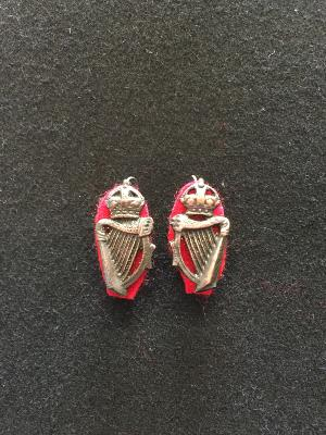 Royal Irish Constabulary collar badges 1 x pair