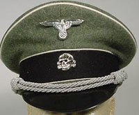 German WW2 Visor Caps and Kepi's -  - World war two German Uniforms
