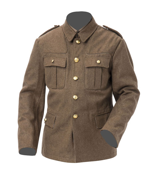 WW1 British Soldiers Tunic -MADE IN ENGLAND