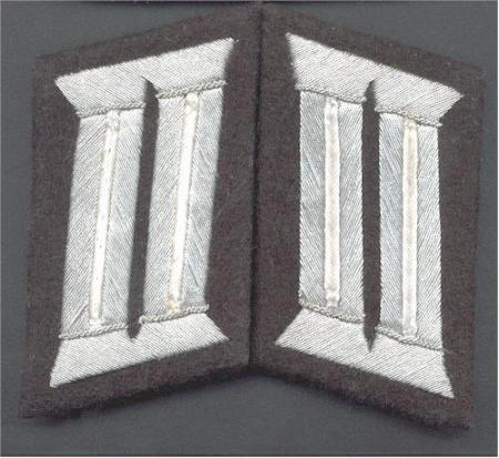 Heer Officer collar patches - infantry Officer