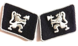 Legion Norwegian officers  - SS collar tabs