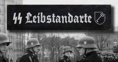 Liebstandarte road sign - World War two repro road sign