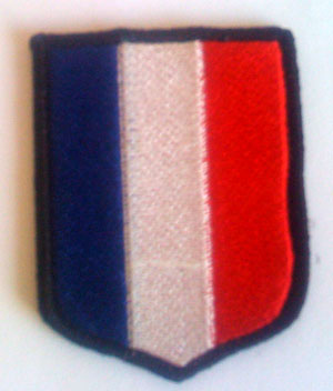 SS French Volunteers shield