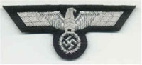 Panzer/DAK - World War two German patches and badges