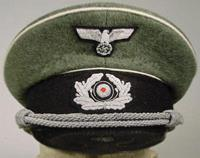 Heer officers visor cap