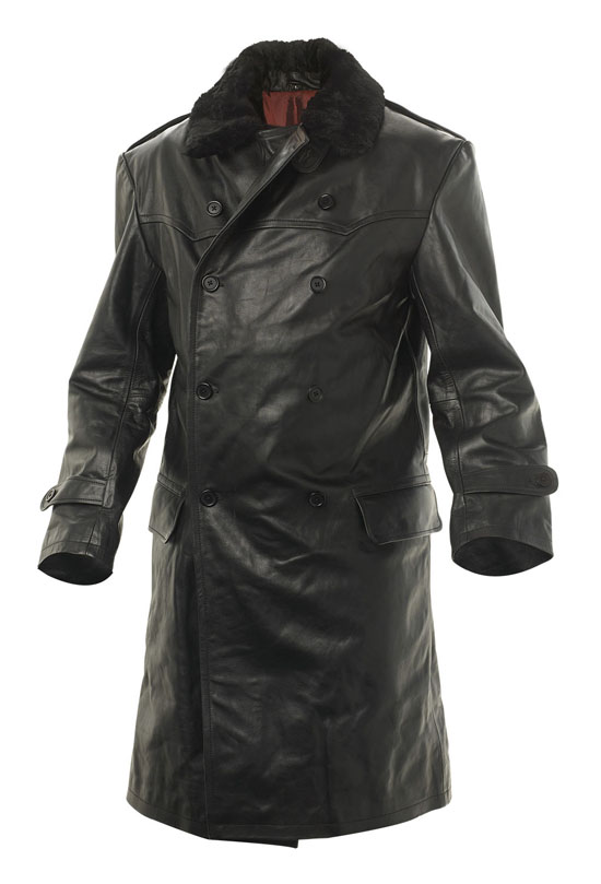 WW2 Soviet Russia Navy leather coat