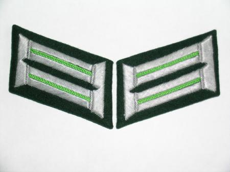 Heer Officer collar patches - Panzer Grenadier Officer