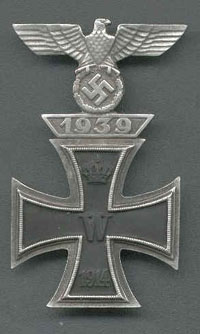 Iron Cross First Class with clasp