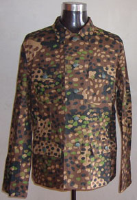 WW2 German Camouflage tunics  WWII German Uniforms