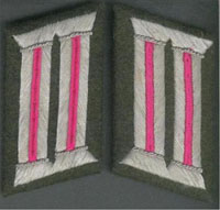 Heer Collar Tabs - Panzer Officer