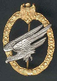 Fallschirmjager Badge
