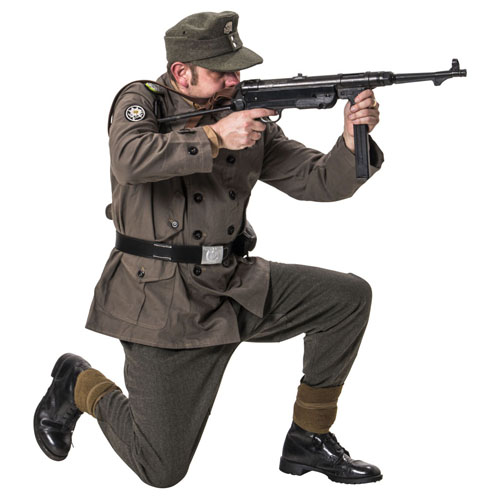 WW2 German SS Gebirgsjager uniform