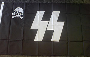 SS HQ flag - WW2 German flag