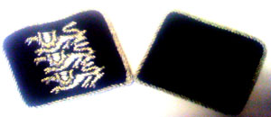 British FreiKorps OFFICER  COLLAR TABS