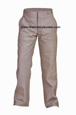 Kriegsmarine Grey leather foul weather trousers